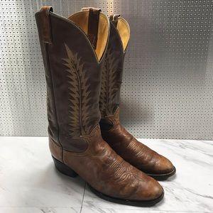 Tony llama leather cowboy boots western 6531